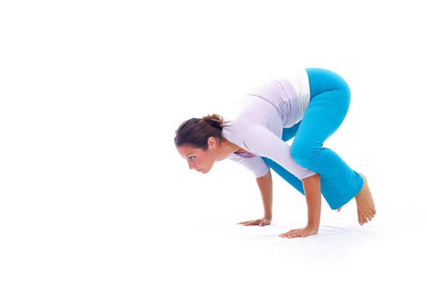 Crow pose for beginners