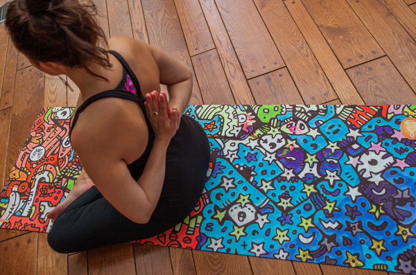 Check Out These Artsy Graffiti Inspired Yoga Mats Doyouyoga