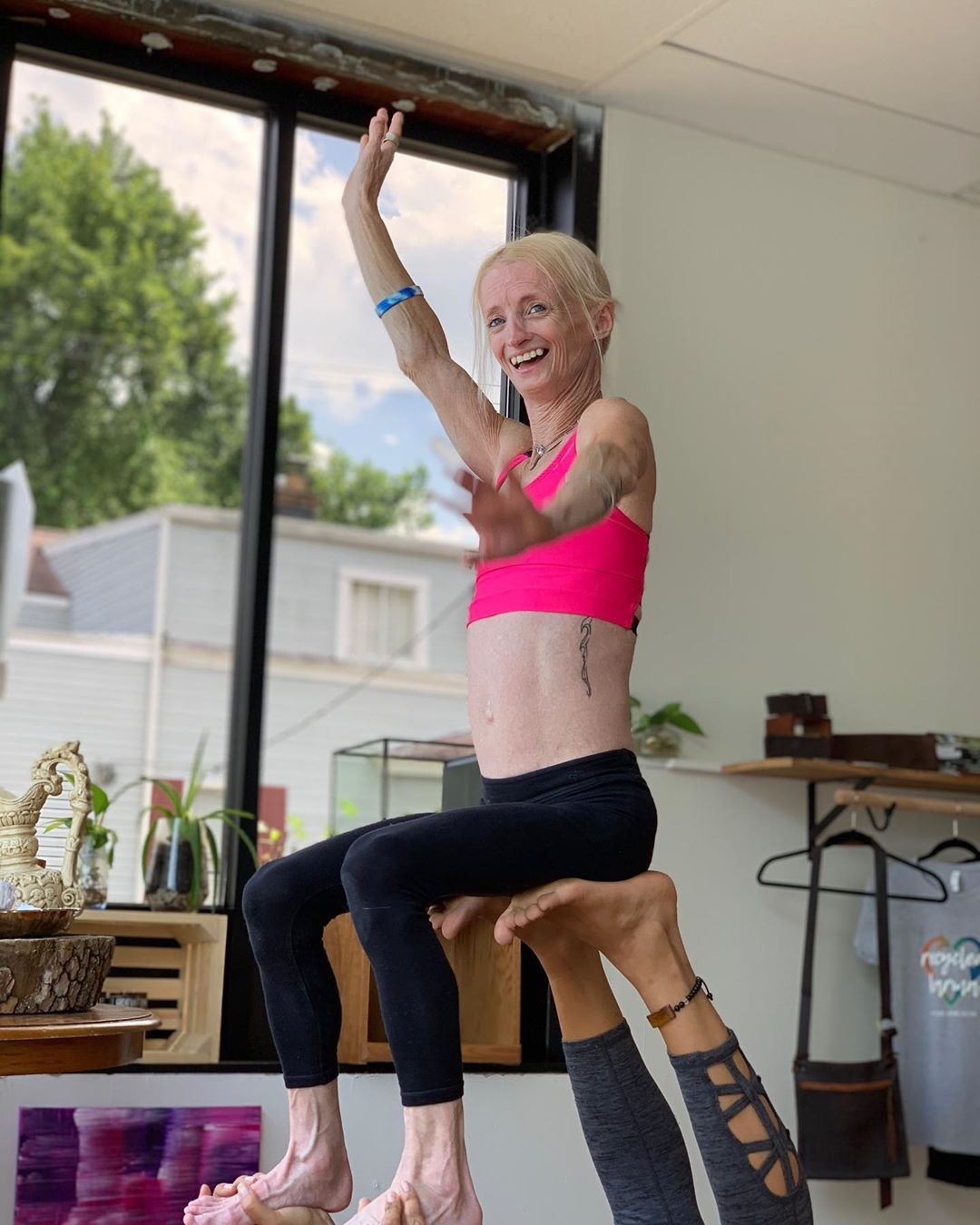 Her Rapid Aging Disease Doesn't Stop Her From Living and Loving Yoga #DOYOU