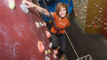 Born with One Arm, This Climber's Disability Inspired Her to Reach Even Greater Heights