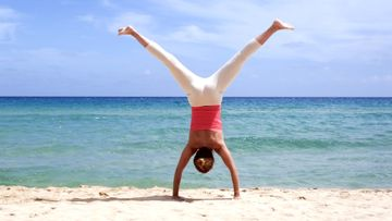Ready to Master Handstand?  Here's a 5 Step Progression to Build Up to Lift Off!