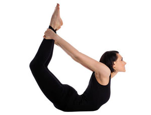 Integral Yoga Bow Pose