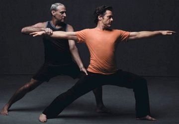 How Robert Downey Jr. Found Spiritual Balance in Yoga