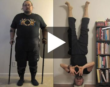 How a Disabled War Veteran Learned to Walk Again Through Yoga
