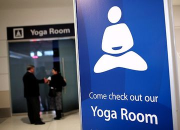 Relieve Pre-Flight Stress at the SFO Airport Yoga Room