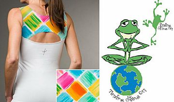 TerraFrog Releases Limited Edition Yoga Tank