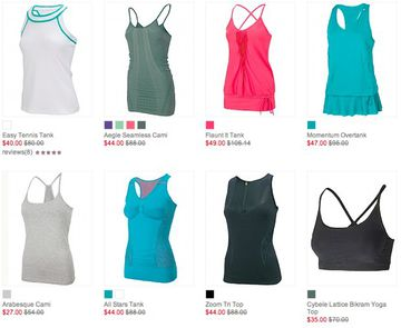 50% Off – 16 Yoga Tops at Sweaty Betty
