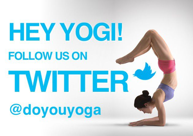Get Yoga Updates On Twitter