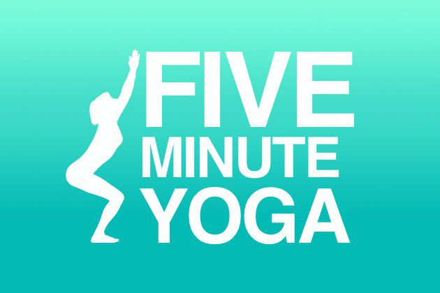 5 Minute Yoga - How To Fit Your Yoga Into Your Holidays