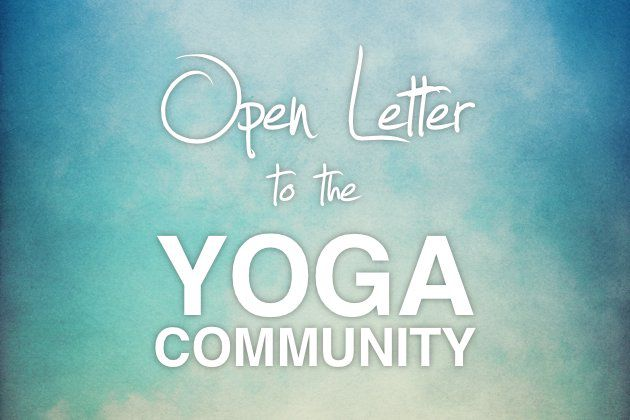 Cut the Fat: An Open Letter to the Yoga Community