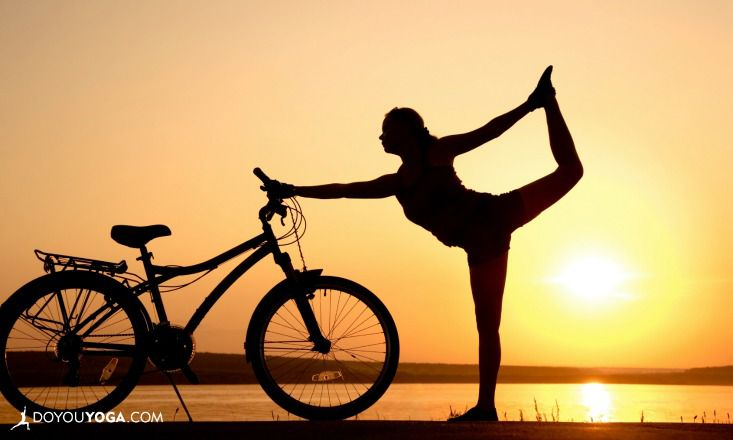 5 Ways To Practice Yoga On Your Bicycle