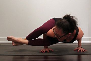 How To Do Eight-Angle Pose