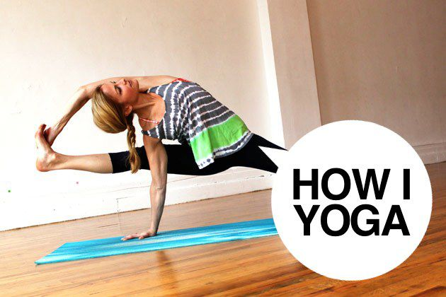 I'm Heidi Kristoffer, And This Is How I Yoga
