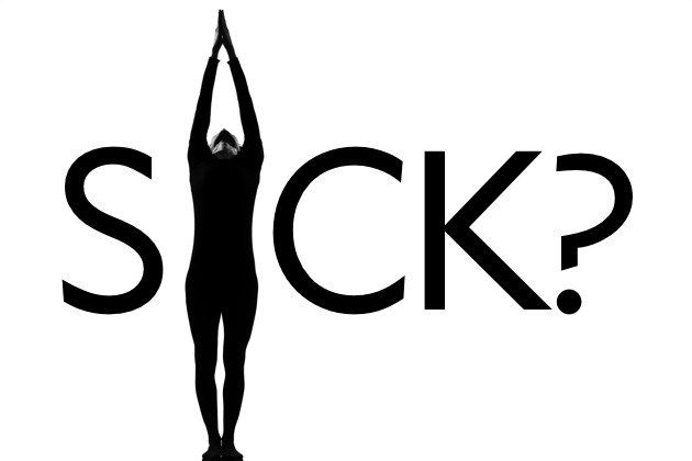 Should You Practice Yoga When You're Sick?