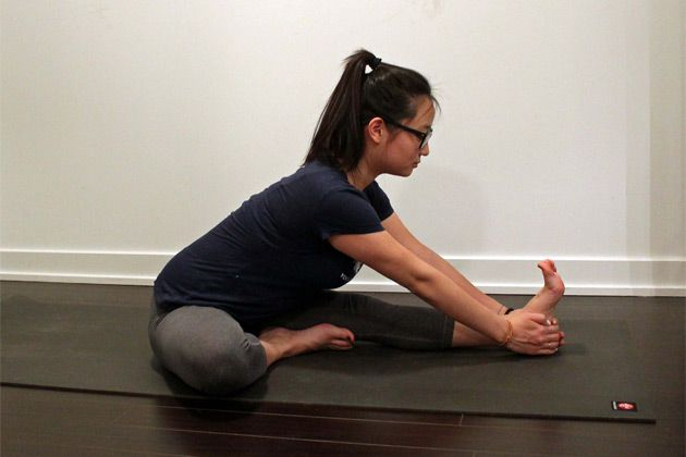 How To Do Head-to-Knee Pose