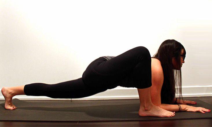 How to Do Lizard Pose