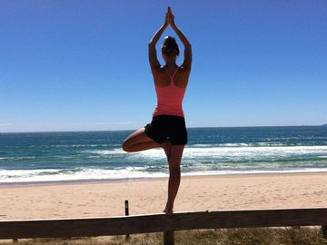Branch Out Baby!  Finding Strength And Balance Through Tree Pose