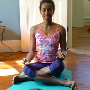 Double Pigeon Pose and Fire Log Pose Meets Cow Faced Pose Agnistambhasana Meets Gomukhasana