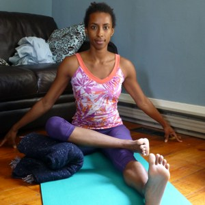 Seated Ankle To Knee Pose