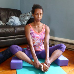 Supported Bound Angle Pose - Baddha Konasana