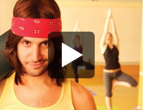 Inapproriate Yoga Guy - The Austin Powers of Yoga