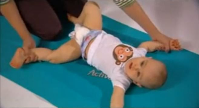 Pampers Baby Yoga Videos - Would You Do This With Your Baby?