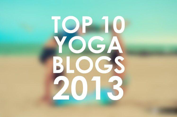 Top 10 Yoga Blogs 2013
