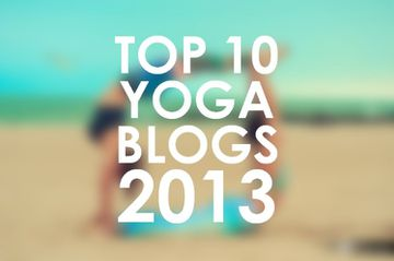 Top 10 Yoga Blogs 2013