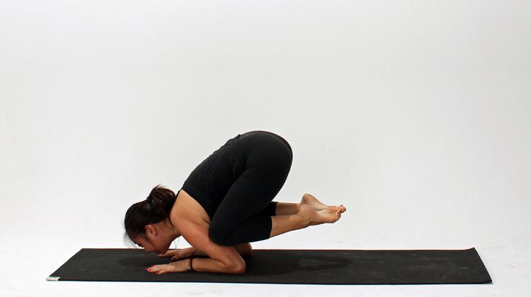 How to Do Baby Crow Pose