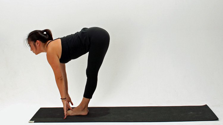 How-To-Do-Half-Standing-Forward-Bend-Pose