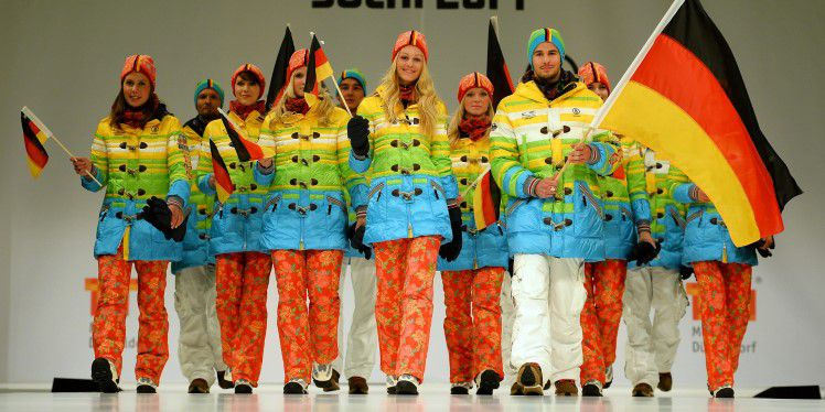 Awesome! German Olympians Will Wear Rainbow Uniforms In 2014 Sochi Winter Olympics