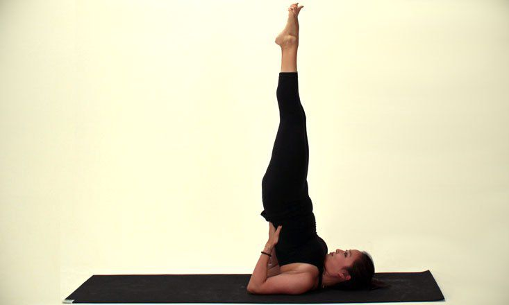 How to Do Supported Shoulderstand Pose