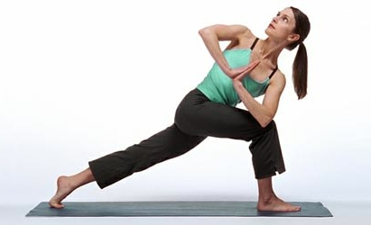 Revolved Side-Angle Pose