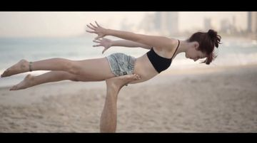 Feels Like Flying - Amazing Acro Yoga Video