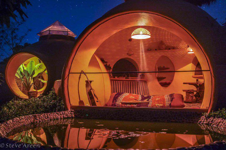 This Guy Built His Own Namaste Bubble House And It Looks AMAZING!