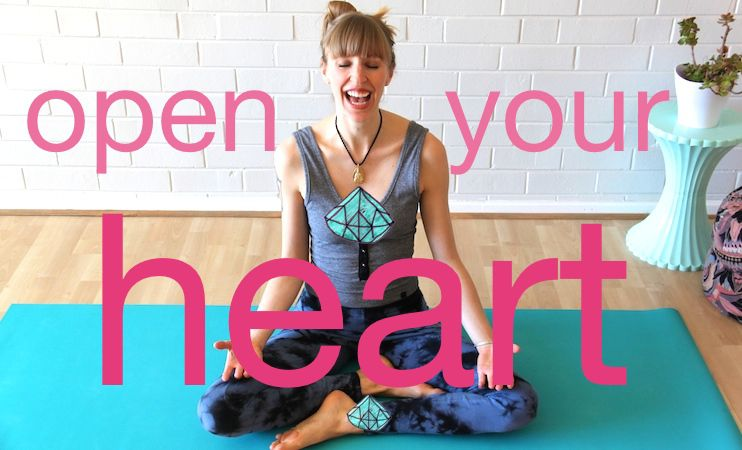 4 Easy Heart Opening Poses