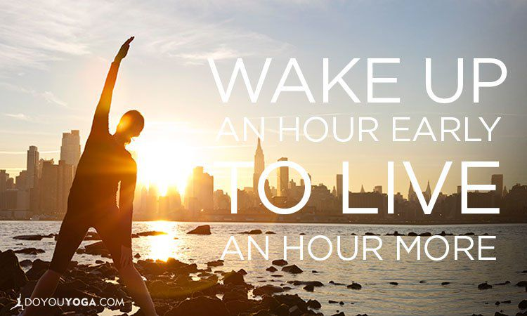 The Awakening of Waking Up Early