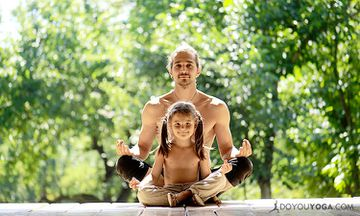 The Yoga Of Being A Dad