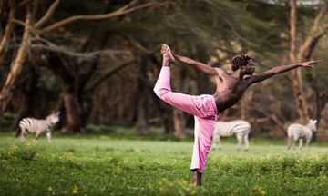 Yoga In Kenya: Not Just A Bend Trend