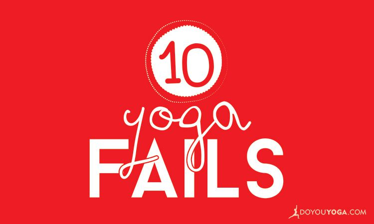 10 Hilarious Yoga Fails