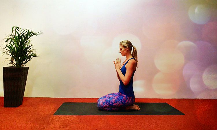 The Perfect Bedtime Yoga Sequence For A Good Night's Sleep