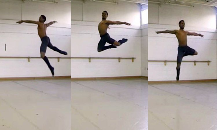 The Hardest Ballet Dance Moves Captured In Slow Motion (VIDEO)