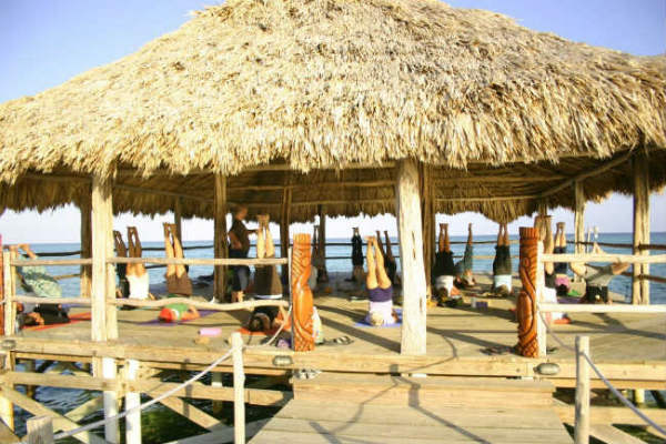 Ak'bol Maya Yoga Retreat, Ambergris Caye, Belize