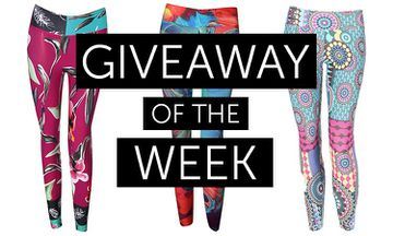 Giveaway - 3 x Fab & Funky Yoga Leggings From Liquido (Worth $85.95)