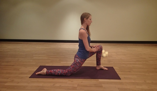Crescent Lunge (Anjaneyasana Variation)