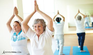 Hatha Yoga Improves Brain Function In The Elderly