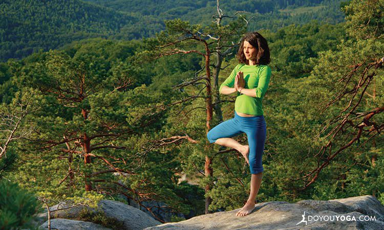 4 Things Tree Pose Has Taught Me About Work-Life Balance