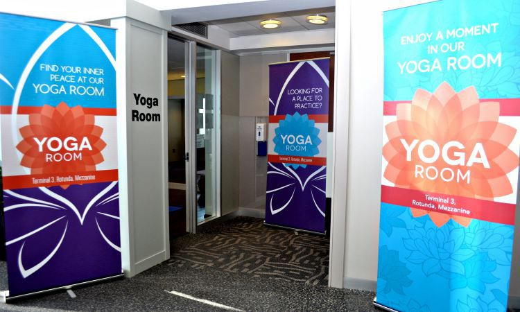 Chicago's Midway Airport Now Has A Yoga Room