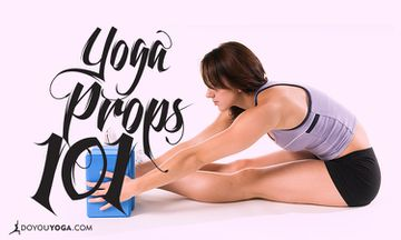 A Home Yogi's Guide To Using Props