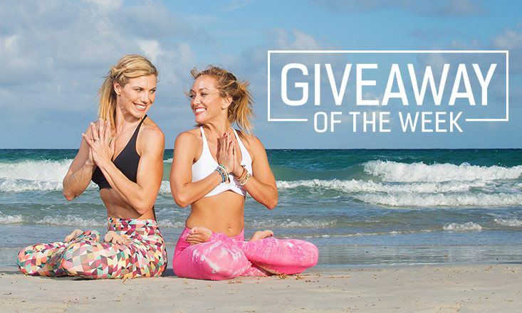 Giveaway: 3 Pairs of Awesome Liquido Om Stars Yoga Pants